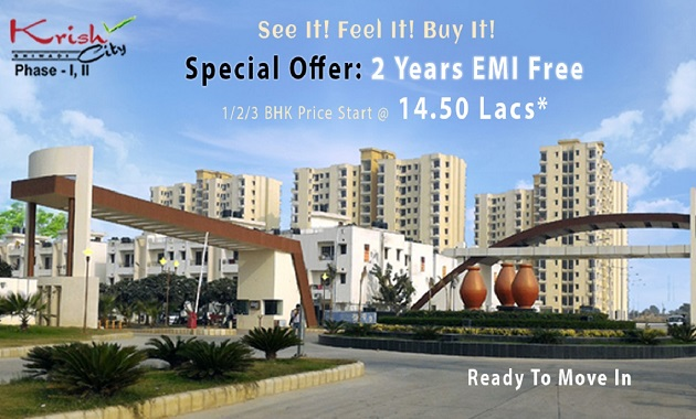 Krish City Buy Affordable & Comfortable Apartments With All Features