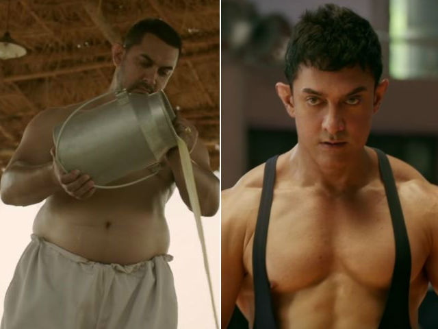 Journey of Amir Khan transformation for DANGAL