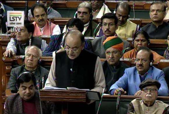 LIVE Finance Minister Arun Jaitley Union Budget 2017 Parliament |