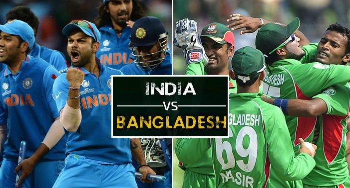 INDIA BEATS BANGLADESH BY NINE WICKETS, TO FACE PAKISTAN IN FINAL OF ICC CHAMPIONS TROPHY 2017