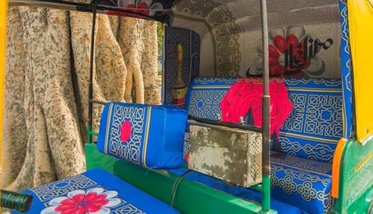 Taxi Fabric Gave This Delhi Auto's Dull Interiors A Makeover and The Result Is Awesome!