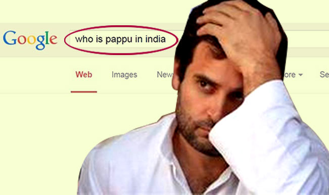 Who Referred RAHUL as PAPPU ?  – Just check it out