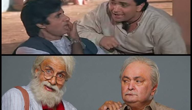 AMITABH BACHCHAN AND RISHI KAPOOR TO RETURN AS FATHER-SON ON DECEMBER 1 – Check it Out
