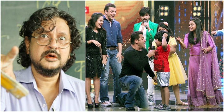 Kids Reality shows disrupts school years says Director Amole Gupte