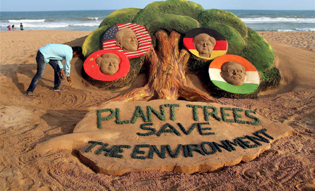 Topic: SAVE THE TREES: SAVE ENVIRONMENT