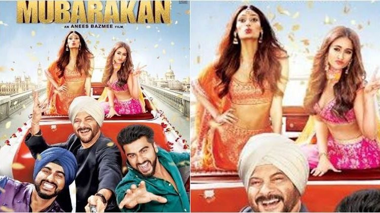 Mubarakan motion picture Review : Anil Kapoor eclipses Arjun Kapoor in this halfway entertaining film