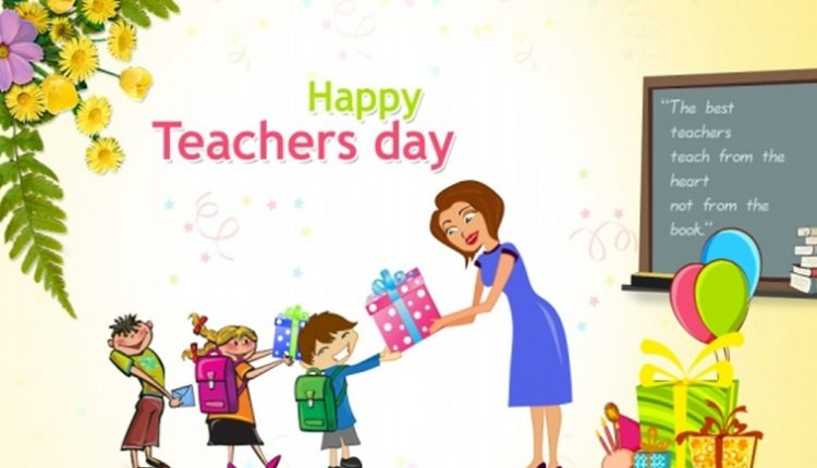My Vote of Thanks for my worthy Teachers – Happy Teacher's Day