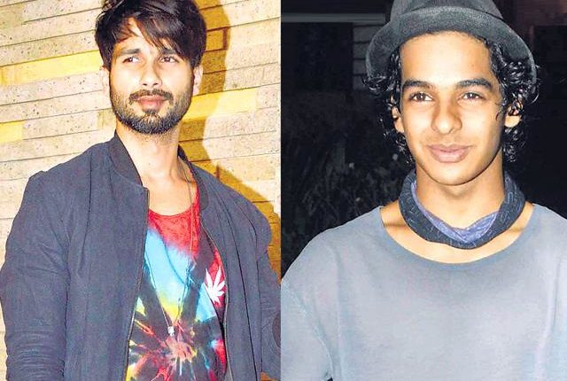SHAHID KAPOOR WARNS BROTHER ISHAAN OVER DATING SRI DEVI'S DAUGHTER JHAANVI KAPOOR
