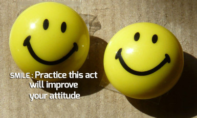 Your Smile shows your Attitude!