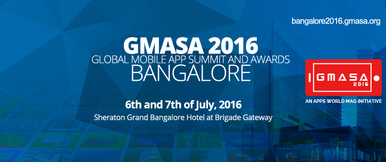 GMASA'16 : AN INTERNATIONAL MOBILE EVENT IS ON ITS WAY