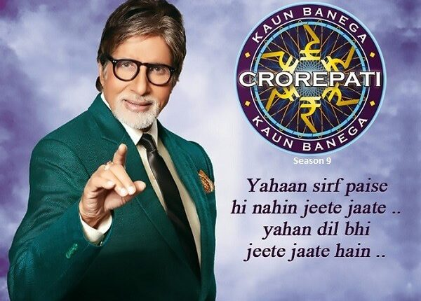 Mr Bachchan Back on Small Screen with Season 9 of KBC