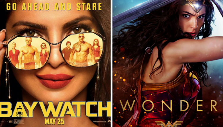 'WONDER WOMAN' Beats 'BAYWATCH' In INDIA, PRIYANKA vs GAL GADOT: Priyanka fails to work magic