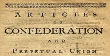 The Articles of confedration