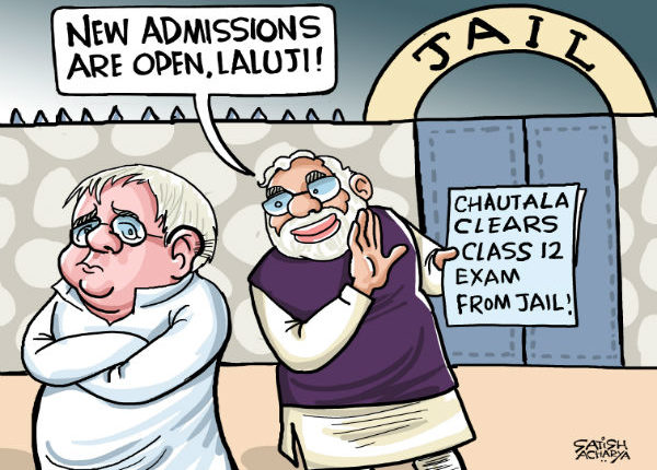 Scams, Allegations, Contradictions, Court Cases- Nothing can stop Lalu Prasad Yadav!