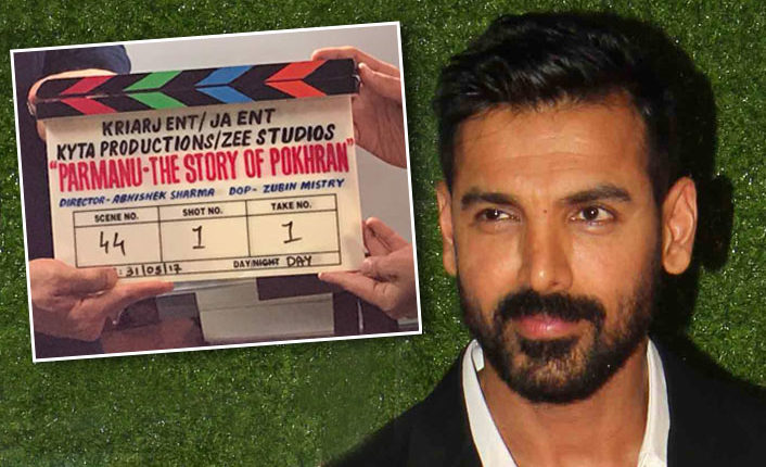 John Abrahram Finally Talks about his New Film Parmanu-The Story of Pokhran