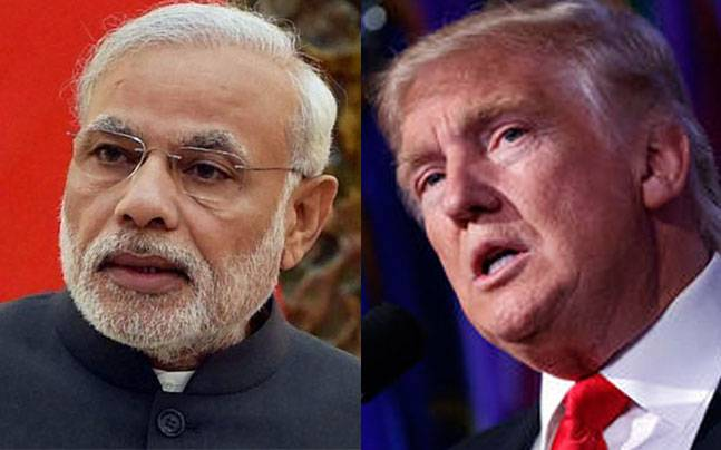 Trump's Policy affecting Indian Market