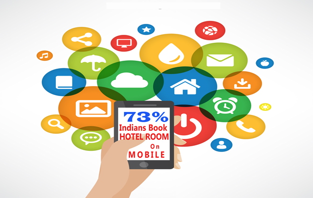 73% of the Indians rely on Mobiles for booking hotel rooms