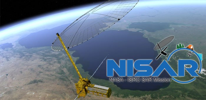 NASA and ISRO joined hands – MISSION NISAR SATELLITE 2021