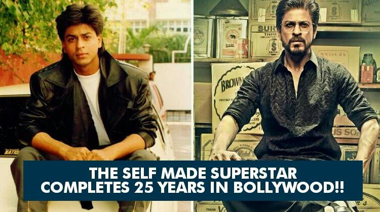 If You Are a True Shahrukh Khan's  Fan , Check Out His 25 Years in Bollywood