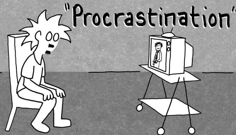 How to avoid Procrastination- the action of delaying or postponing something