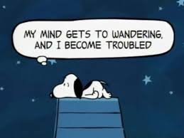 Wander your thoughts
