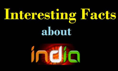 Amazing Indian Facts..Did You Know!!!